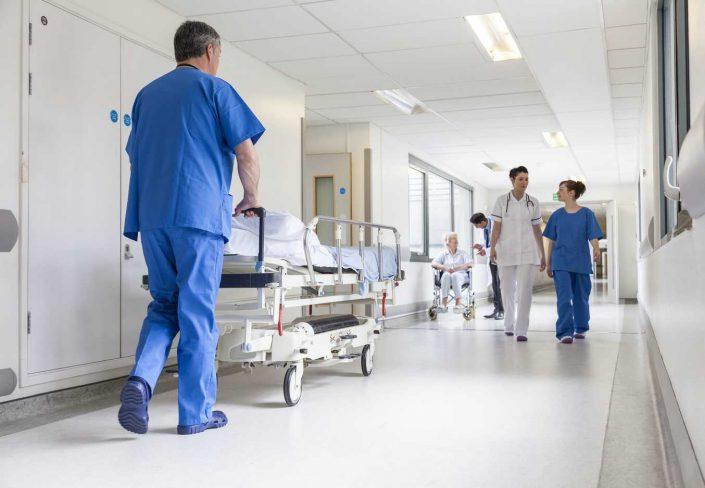 N - O Hospitales, Centros y Clinicas - Población