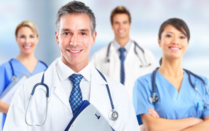 V - X Centros, Clinicas y Hospitales - Población